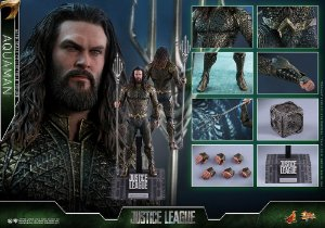 Aquaman Liga da Justiça DC Comics Movie Masterpiece Hot Toys Original