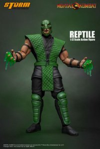 [ENCOMENDA] Reptile Classic Mortal kombat Storm Collectibles Original