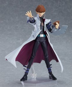 [PRE-VENDA] [EXCLUSIVO] Seto Kaiba Yu-Gi-Oh! Duel Monsters Figma MAX Factory Original