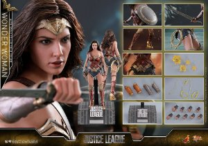[PRE-VENDA] Wonder Woman Justice League DC Comics Movie Masterpiece Hot Toys Original