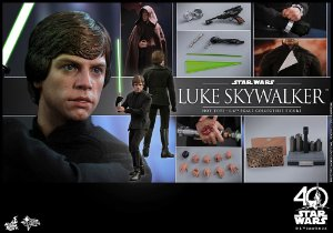 [PRE-VENDA] Luke Skywalker Star Wars Episode VI Return Of The Jedi Hot Toys Original