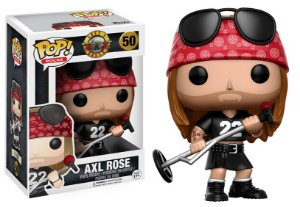 Axl Gun's N Roses Pop! Rocks Funko Original