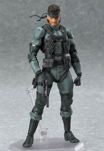 [PRE-VENDA] Solid Snake Metal Gear Solid 2 Sons of Liberty Figma Max Factory Original