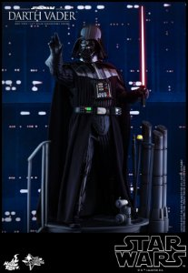 [PRE-VENDA] Darth Vader Episode V The Empire Strikes Back Movie Masterpiece Hot Toys Original