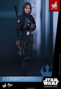 Jyn Erso Imperial Disguise Version Rogue One Star Wars Movie Masterpiece Hot Toys Original