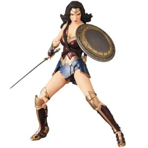 [PRE-VENDA] Wonder Woman Justice League MAFEX No.060 Medicom Toy Original