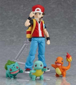 [EXCLUSIVO] Red Pokemon Figma Good Smile Company Original