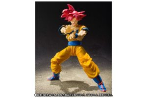 Son Goku Super Sayajin God Dragon Ball Super S.H. FIguarts Bandai Original