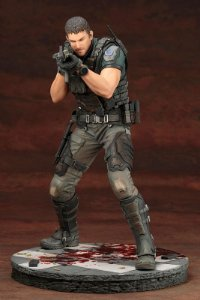 Chris Redfield Biohazard: Vendetta ARTFX Kotobukiya Original
