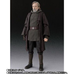 Luke Skywalker Star Wars The Last Jedi S.H. Figuarts Bandai Original