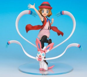 Serena & Sylveon Pokemon XY G.E.M. Series MegaHouse original