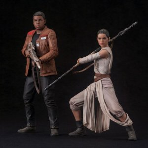 Rey & Finn Star Wars: The Force Awakens ARTFX+ Kotobukiya original