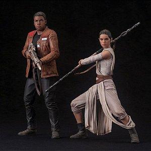 Rey & Finn Star Wars: The Force Awakens ARTFX+ Kotobukiya original