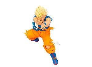 Goku Super Sayajin Dragon Ball Scultures 4 Banpresto Original