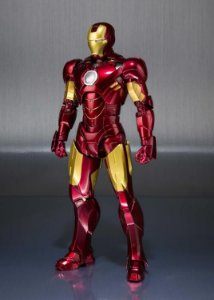 Iron man Mark IV Iron man 2 & Hall of Armor Set S.H. Figuarts Bandai Original