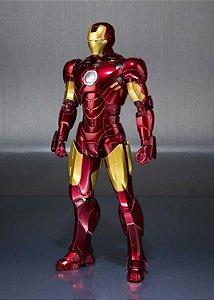 Iron man Mark IV Iron man 2 & Hall of Armor Set S.H. Figuarts Bandai Original