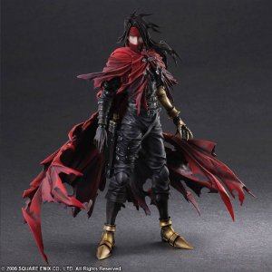 Vincent Valentine Final Fantasy VII Dirge of Cerberus Play Arts Kai Square Enix Original