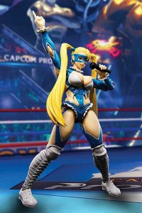 Rainbow Mika Street Fighter V S.H. Figuarts Bandai Original