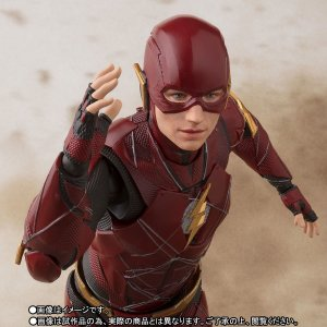 Flash S.H. Figuarts Justice League Bandai Original