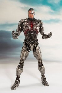 Cyborg Liga da Justiça DC Comics ARTFX+ Kotobukiya Original