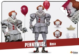 [PRE-VENDA] Pennywise (2017) It NECA Original
