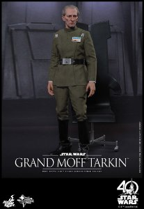 [ENCOMENDA] Grand Moff Tarkin Star Wars Episode IV A New Hope Movie Masterpiece Hot Toys original