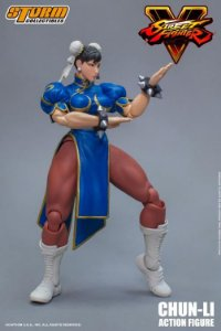 [ENCOMENDA] Chun-li Street Fighter V Storm Collectibles Original