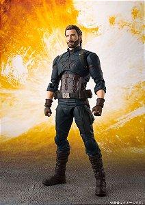 Capitão America Vingadores Guerra infinita Marvel S.H. Figuarts Bandai Original