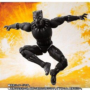 Pantera Negra Vingadores Guerra infinita Marvel S.H. Figuarts Bandai Original