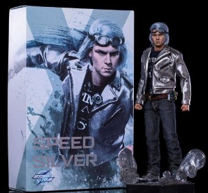 Mercúrio X-men The Speed silver Soosootoys escala 1/6