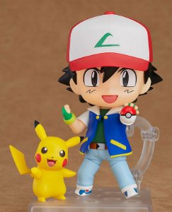 Ash & Pikachu Pokemon Nendoroid Good Smile Company Original