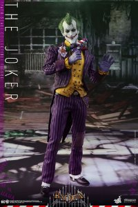 Joker Arkham Asylum Video Game Masterpieces Hot Toys Original