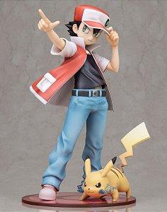 Red e Pikachu Pokemon ArtfX J Kotobukiya original
