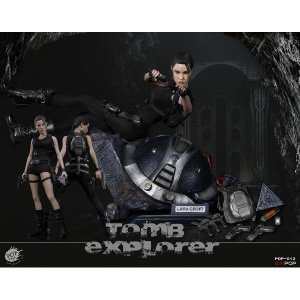 Lara Croft Tomb Raider Deluxe Version escala 1/6 Poptoys