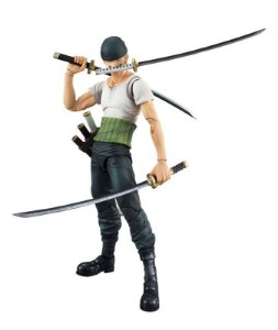 Roronoa Zoro One Piece Variable Action Heroes Medicom Original