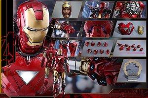 Homem de Ferro Mark VI Diecast Movie Masterpieces Hot Toys Original