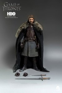 Eddard Stark Game of Thrones Threezero escala 1/6 original