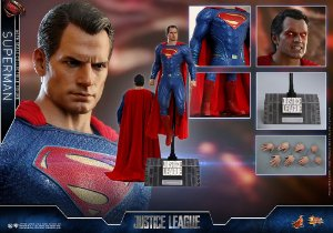 Superman Liga da Justiça Movie Masterpieces Hot Toys Original