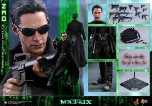 Neo The Matrix Movie Masterpieces Hot Toys Original