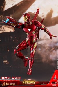 Homem de Ferro Mark 50 Vingadores Guerra infinita Marvel Comics Movie Masterpieces Hot Toys Original