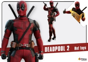 Deadpool 2 Movie Masterpieces Hot Toys Original