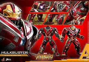 Hulkbuster 2.0 Vingadores Guerra infinita Marvel Comics Movie Masterpieces Hot Toys Original