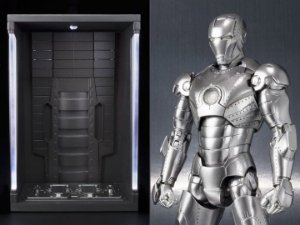 Homem de Ferro Mark II & Hall of Armor Set S.H. Figuarts Bandai Original