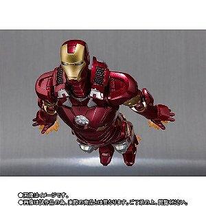Homem de Ferro Mark 7 Marvel Homem de ferro 3 S.H. Figuarts Bandai Original