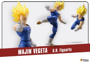 Majin Vegeta Dragon Ball Z S.H. Figuarts Bandai Original