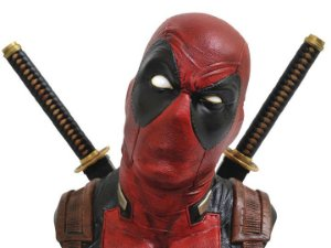 Deadpool Busto 1/2 Marvel Legendary Diamond Select Toys Original
