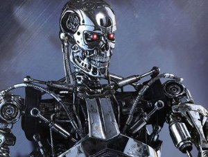 Endoskeleton Exterminador do Futuro Genisys Movie Masterpieces Hot Toys Original