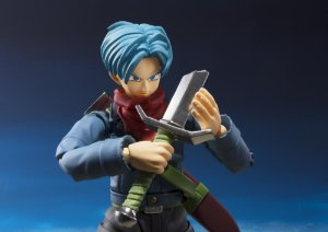 Trunks do Futuro Dragon Ball Super S.H. Figuarts Bandai Original