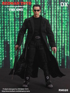 Neo Matrix Escala 1/6 Deluxe edition Redman Toys