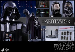 Darth Vader Episode V The Empire Strikes Back Movie Masterpiece Hot Toys Original